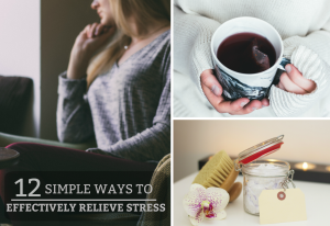 12 Simple Ways To Effectively Relieve Stress- A practical guide on how to relieve daily stress. www.tradingaverage.com