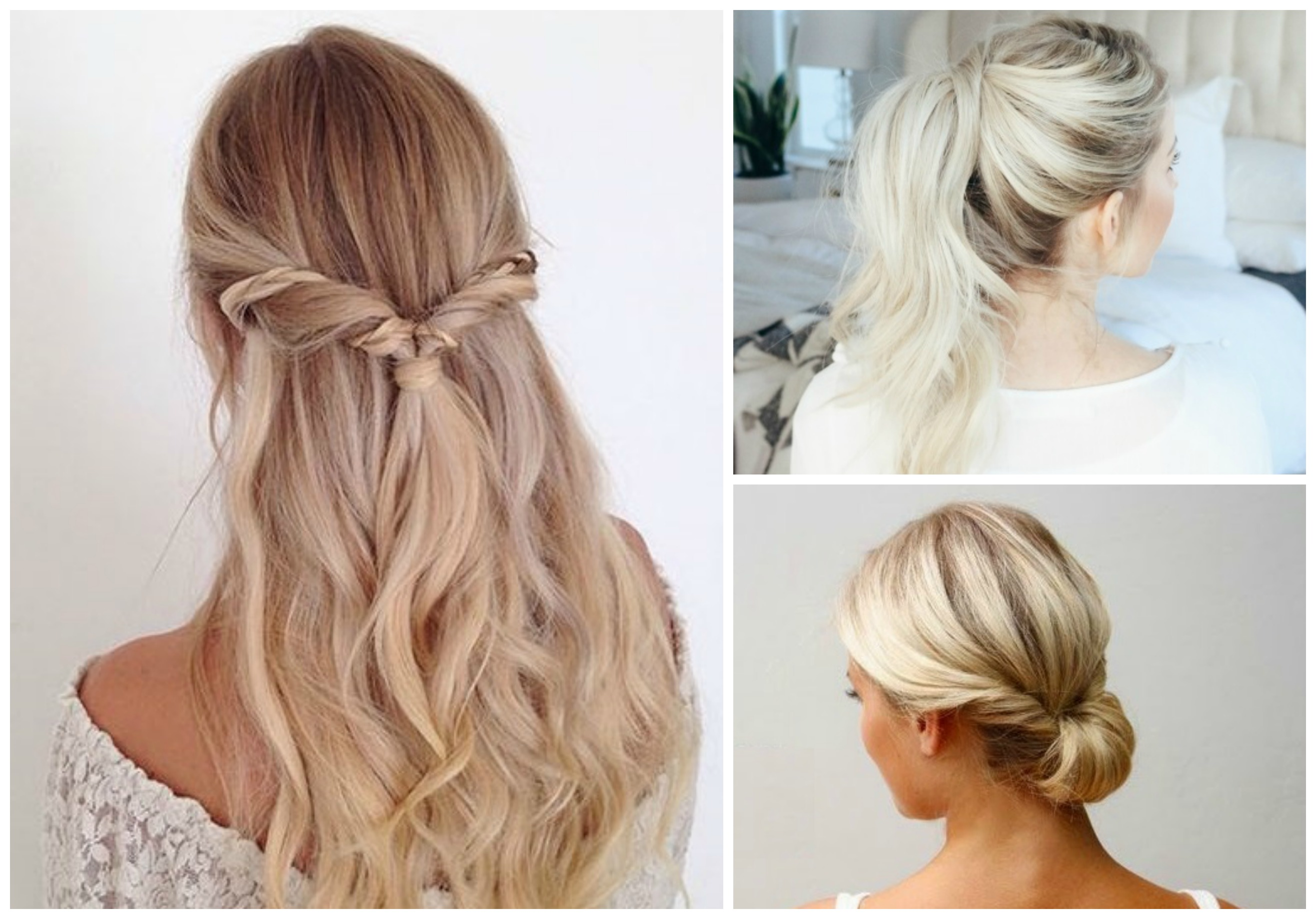 12 Super Easy Hairstyles for Everyday Life