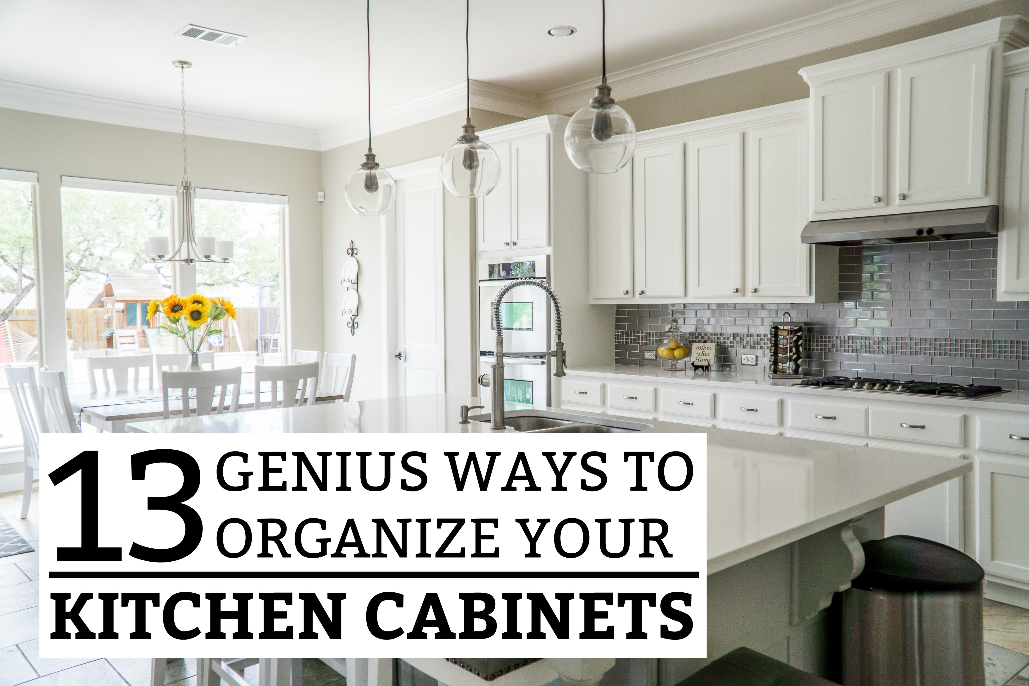 Brilliant 13 Genius Ways To Organize Your Kitchen Cabinets Download Free Architecture Designs Scobabritishbridgeorg