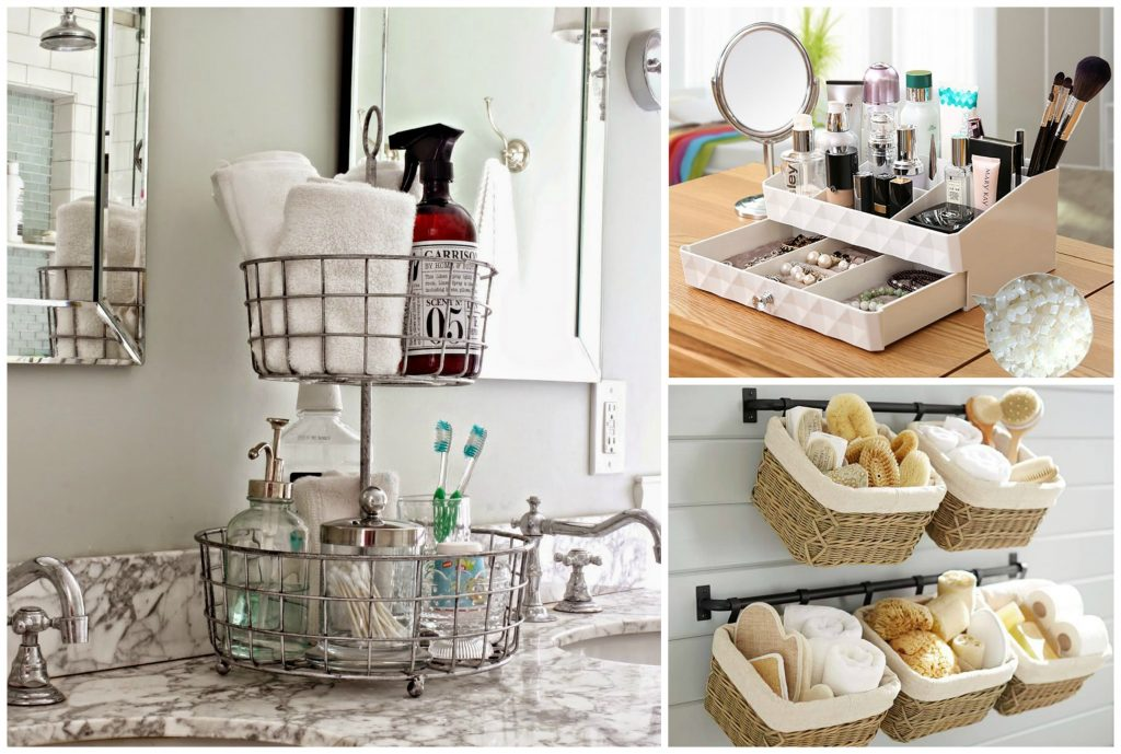 How To Organize Vanity Table