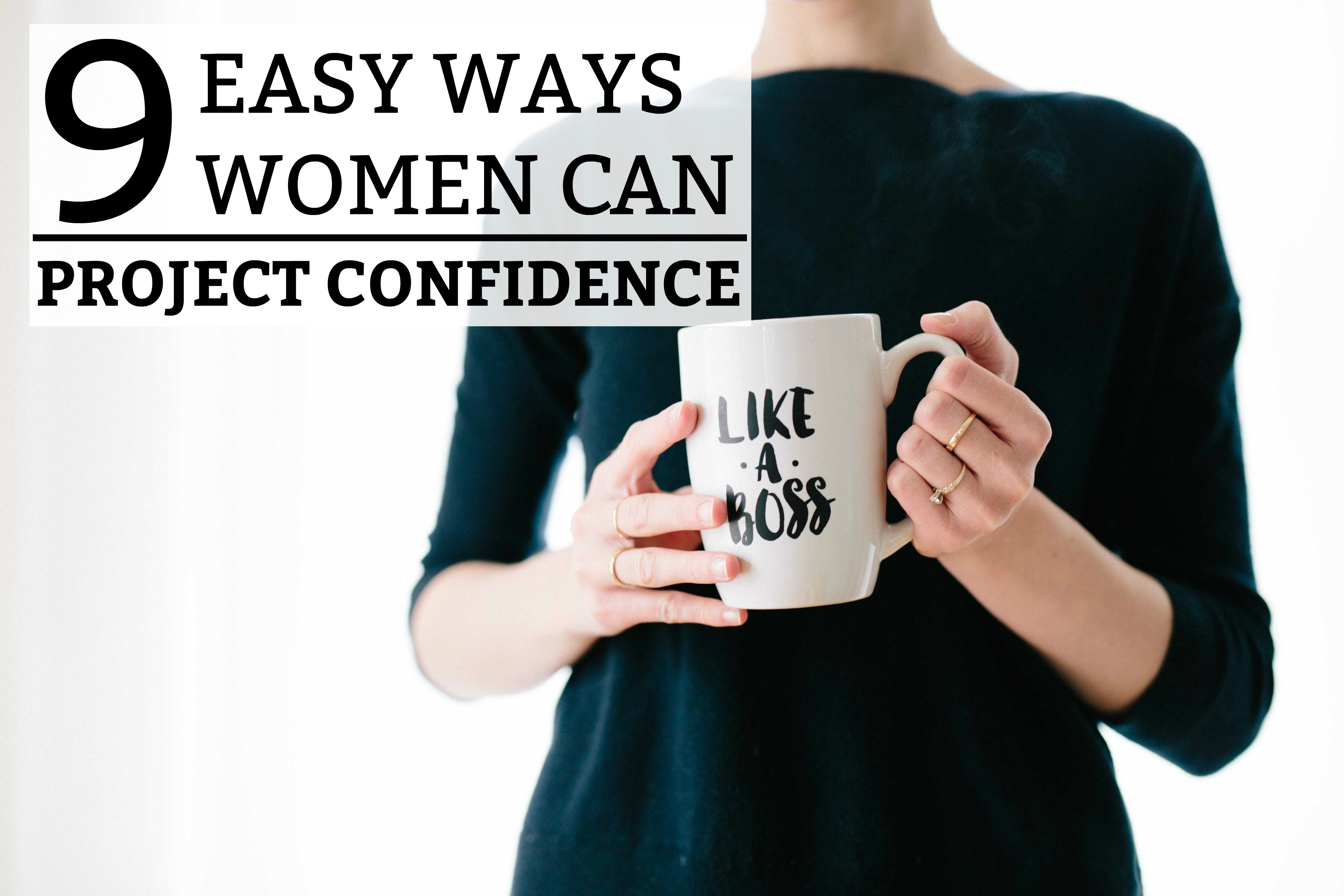 how to be a more confident woman