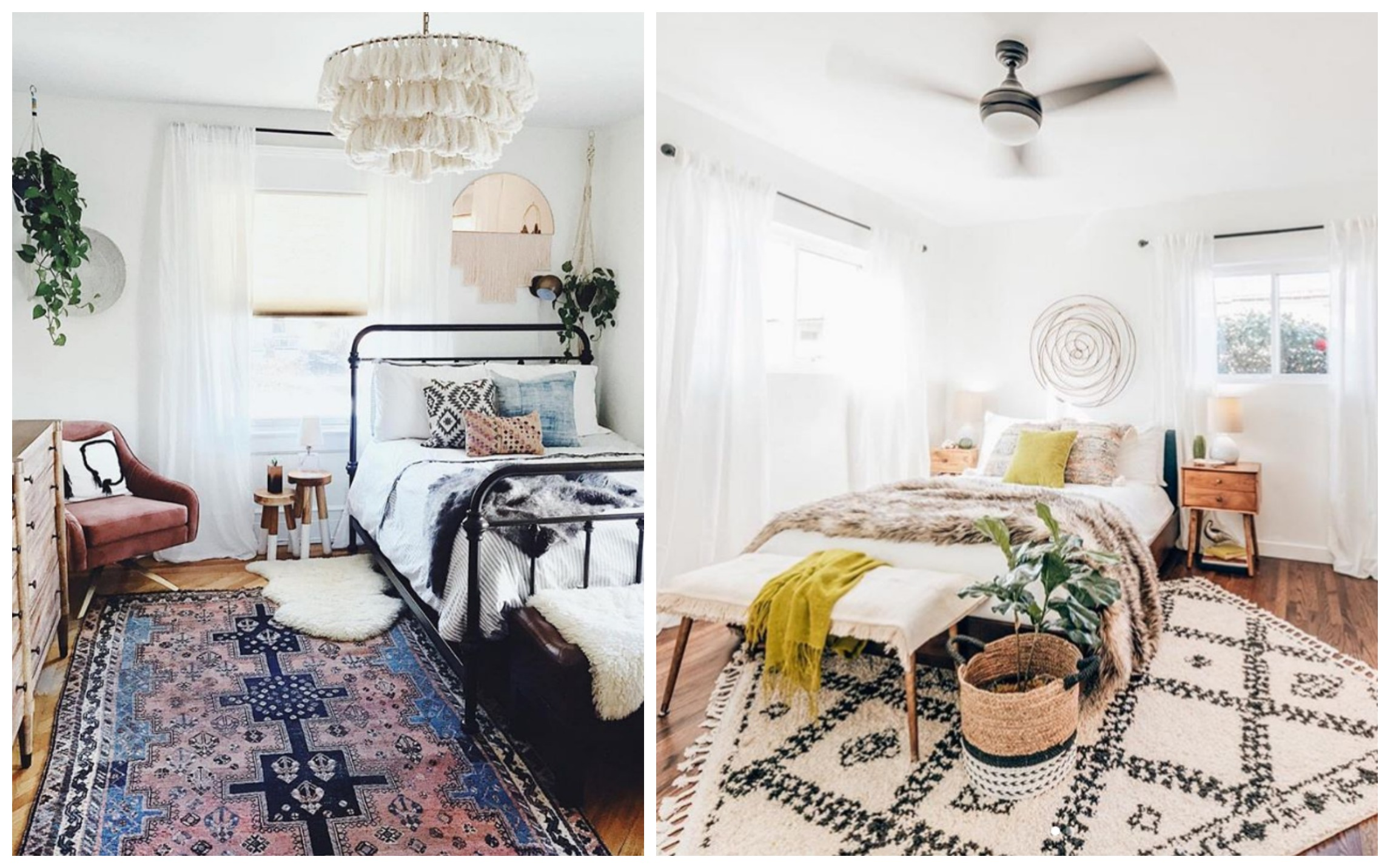 11 Boho Bedroom Ideas To Decorate Your
